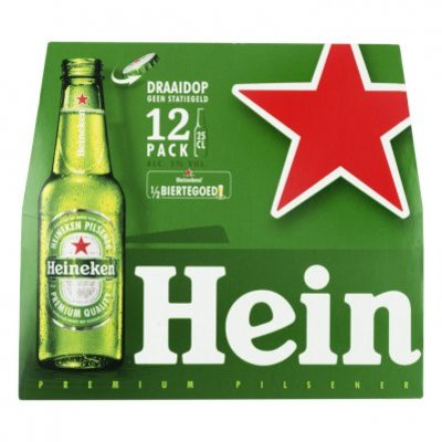 Heineken Premium pilsener met draaidop