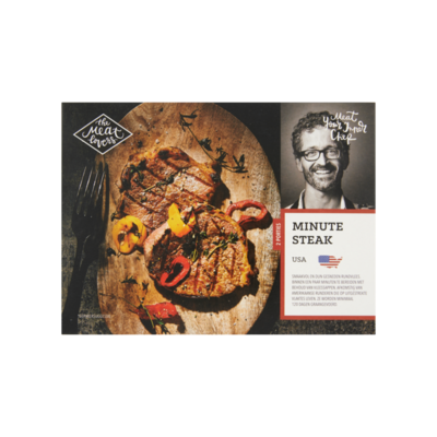 The Meat Lovers Minute Steak USA
