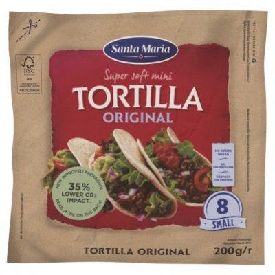 Santa Maria Mini tortilla original