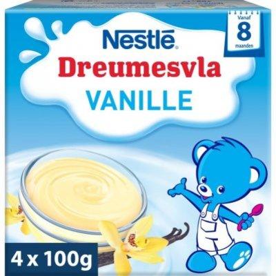 Nestlé Dreumesvla vanille 8+ mnd baby toetje