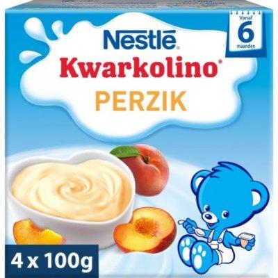 Nestlé Kwarkolino perzik 6+ mnd baby toetje