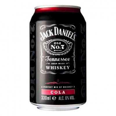 Jack Daniels Whiskey cola