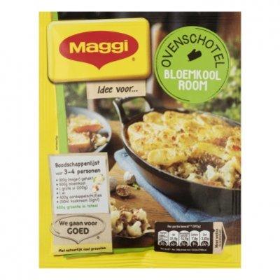 Maggi Ovenschotel bloemkool room kruidenmix