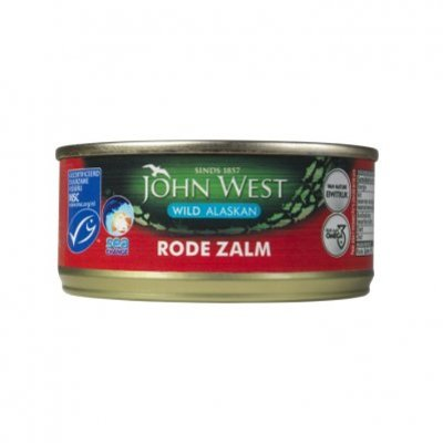 John West Wilde rode zalm MSC