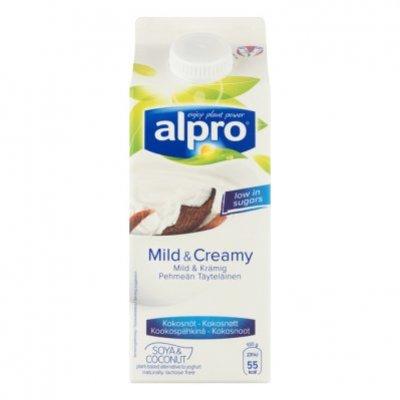 Alpro Mild & Creamy Naturel met kokosnoot