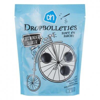 Huismerk Dropbolletjes  -30% suiker