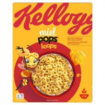 Kellogg's Honey pops loops