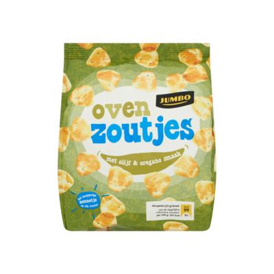 Huismerk Oven Zoutjes met Olijf & Oregano Smaak