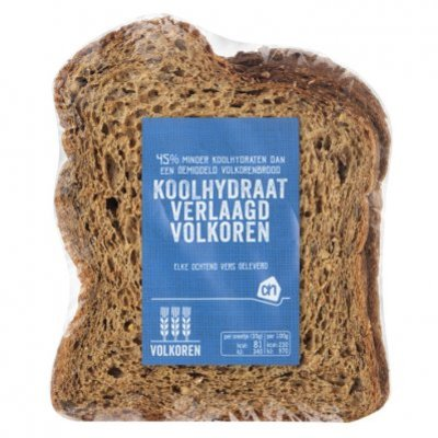 Huismerk Koolhydraatarm brood