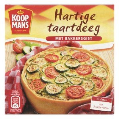 Koopmans Taartdeeg voor 2 hartige taarten
