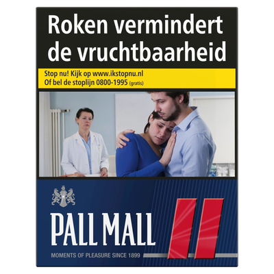 Pall Mall Red Mega 39 Stuks