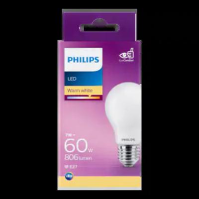 Philips LED Lamp Warm White 7W E