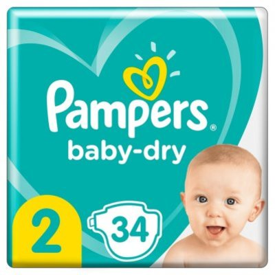 Pampers Baby dry carrypak maat 2