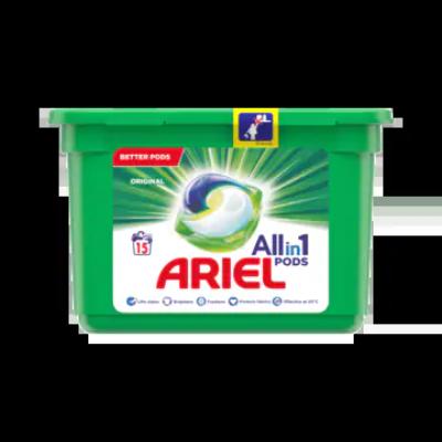 Ariel Allin1 Pods Regular Wasmiddelcapsules 15 Wasbeurten