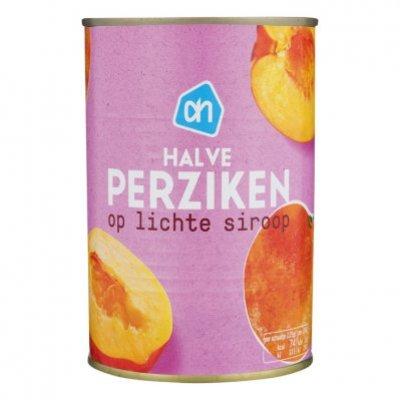 Huismerk Perziken half op siroop