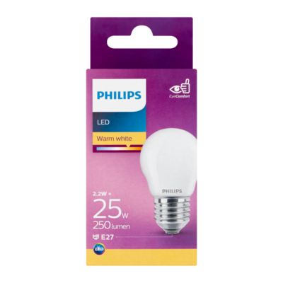 Philips LED Warm White 2.2W E