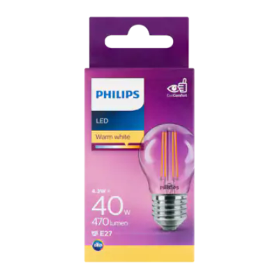 Philips LED Warm White 4.3W E