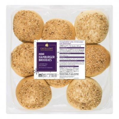Huismerk Mini hamburger broodjes