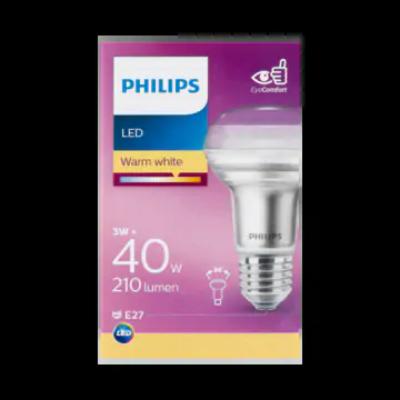 Philips LED Lamp Warm White 3W E