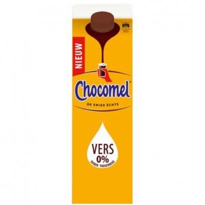 Chocomel 0% suiker toegevoegd vers