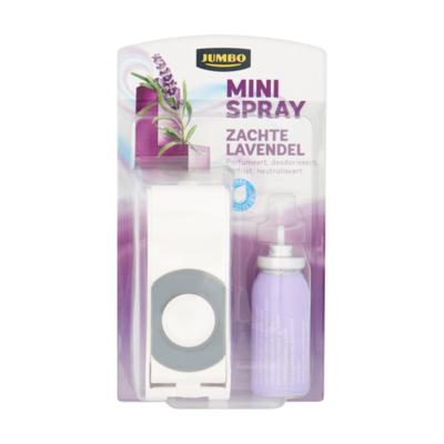 Huismerk Minispray Zachte Lavendel met Houder en Vulling