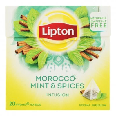 Lipton Infusie morocco mint kruidenthee