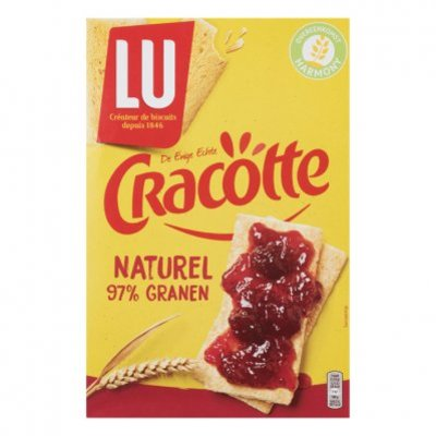 LU Cracotte crackers naturel