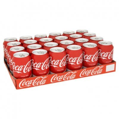 Coca-Cola Regular tray