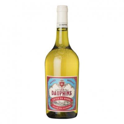 Les Dauphins Côtes du Rhône blanc