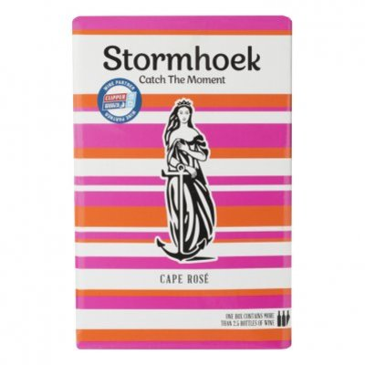 Stormhoek Cape Rosé bag in box