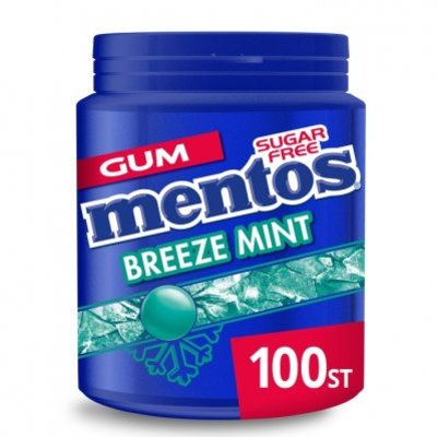 Mentos Gum Bottle breeze mint