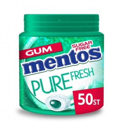 Mentos Gum Bottle pure fresh wintergreen