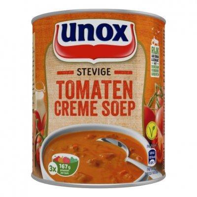 Unox Soep in blik stevige tomatensoep crème