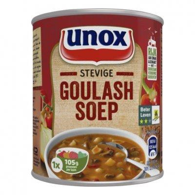 Unox Soep in blik stevige goulashsoep