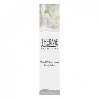 Therme Zen white lotus body mist