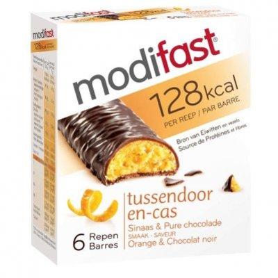 Modifast Snackreep sinaasappel/ chocola