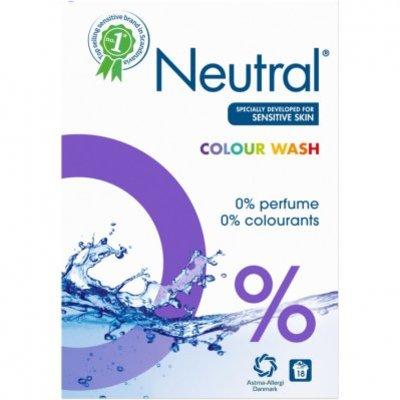 Neutral Kleur waspoeder parfumvrij