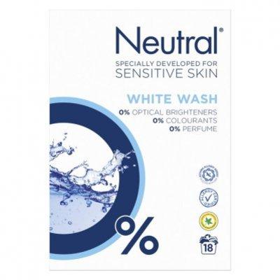 Neutral Parfumvrij waspoeder witte was