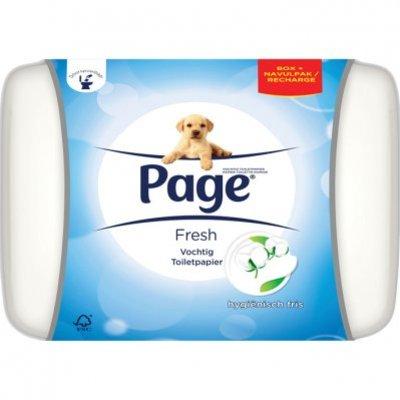 Page Vochtig toiletpapier fresh (bewaardoos)