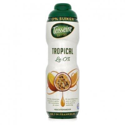 Teisseire Vruchtensiroop tropical 0% suiker