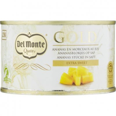 Del Monte Gold ananasblokjes op sap