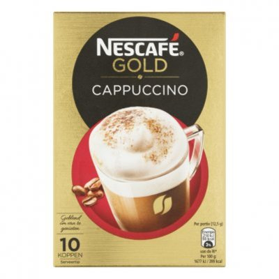 Nescafé Gold cappuccino oploskoffie