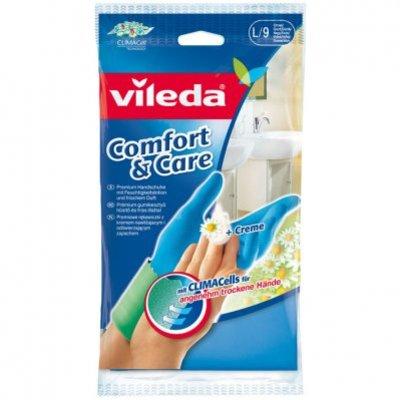 Vileda Handschoenen Comfort & Care maat L