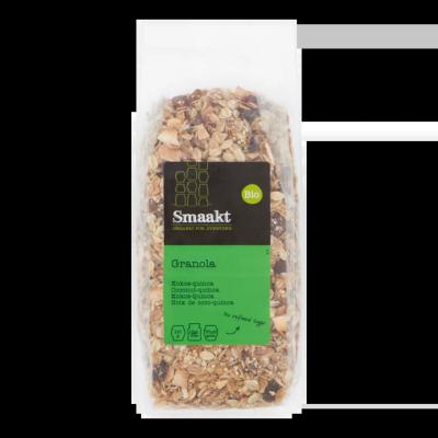Smaakt Bio Granola Kokos-Quinoa