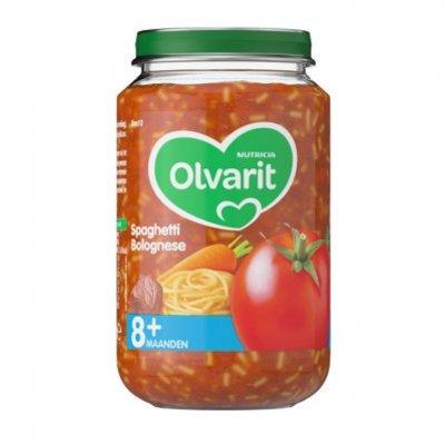 Olvarit Spaghetti bolognese 8+ mnd