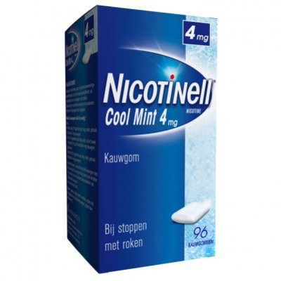 Nicotinell Mint kauwgom 4mg stoppen met roken