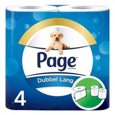 Page Dubbel lang toiletpapier