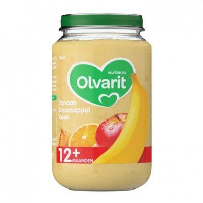 Olvarit Banaan sinaasappel koek 12+ mnd