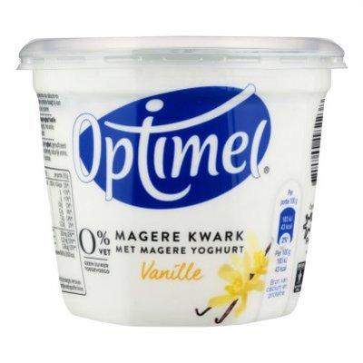 Optimel Magere kwark vanille 0% vet