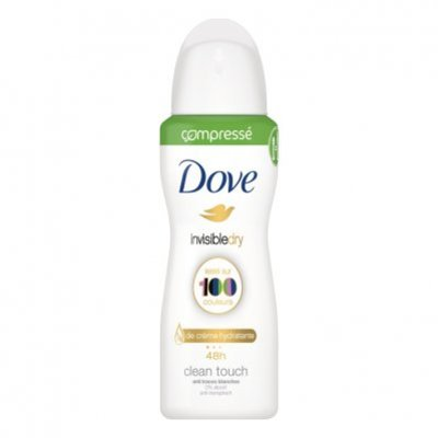 Dove Deodorant spray invisible dry